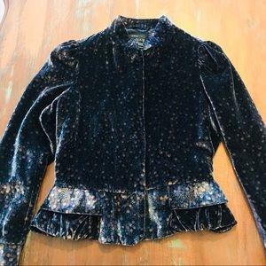 Marc Jacobs Velvet Cropped Jacket